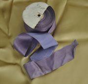 Reversible Lavender Silk Trim Roll 20 Yards