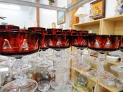 Elegant Glass Ruby Stemware for Sale Antiuqe Plaza Antique Mall