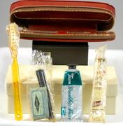 Vintage Hickok Gillette Razor Travel Shaving Kit