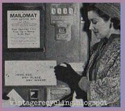 MailOmat 1939 Post Office Kiosk