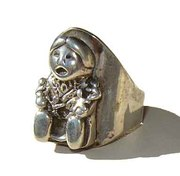 Carol Felley Native American Storyteller Ring