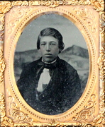 Ruby Ambrotype