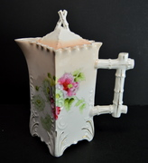 Vintage Porcelain Chocolate Pot