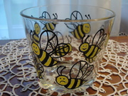 Vintage Bee Ice Bowl