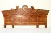 """Antique """"Phoenix"""" Door Lintel from Boudoir (5377), Circa 1800-1849"""