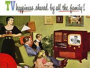 Retro Television Advertisement