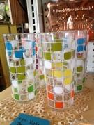 Retro Beverage glassses