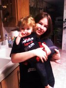 Mommy and Lexi!