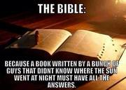 The Bible is absolutely true