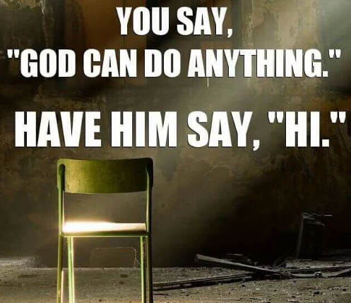 God Can't Talk