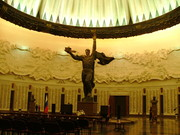 The chapel for the heroes of the soviet Union