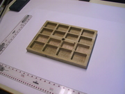 maple counter trays
