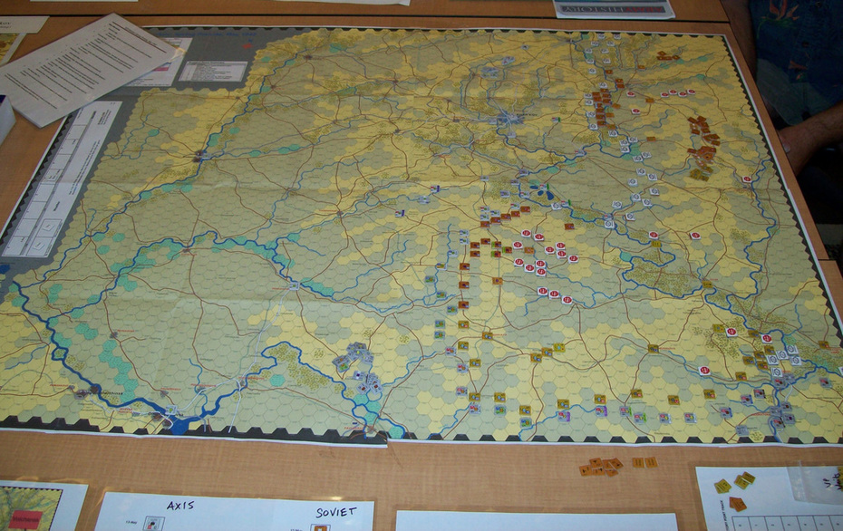 VCS Kharkov Playtest - ConSimWorld Expo 2012