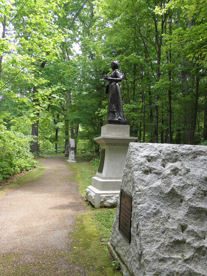 Guilford Courthouse National Military Park - Monuments 01 05-10-2014
