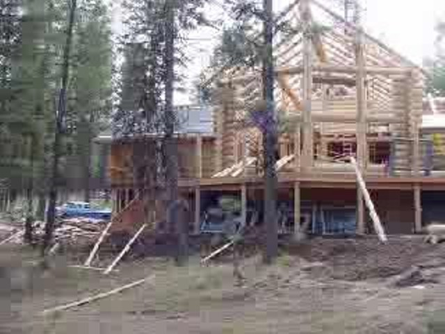 Springdale Luxury Log Home by Avalon Log Homes Gallery