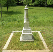 Guilford Courthouse National Military Park - Monument to Col James Stewart 01 05-10-2014