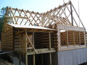 Logs, Porches, Roof System