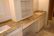 Granite and Upper Cabinets