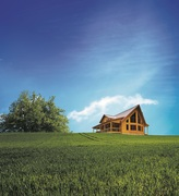 A Homeowner's Idea Turns into Timber Block Model