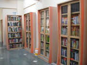 Reference section of our library
