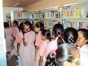 School Children Visit to K. J. Choksi Public Library
