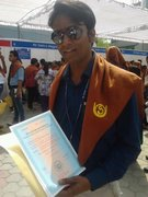 Amarjeet Kumar Getting His MLISc Degree From IGNOU
