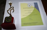 LIS Links: India's Best Institutional Repository Award and Certificate, Year 2012