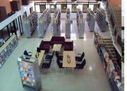 Public Library in Bharuch, Gujarat : Inside View