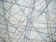 Fragmento de la tela de araña