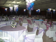 decoraciones de salon con globos