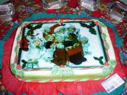 torta de navidad
