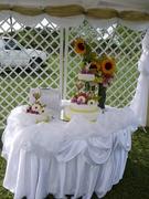 decoracion mesa de bodas