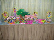 decoracion de baby princesas