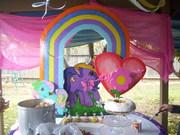 decoracion de fiesta infantil my little pony
