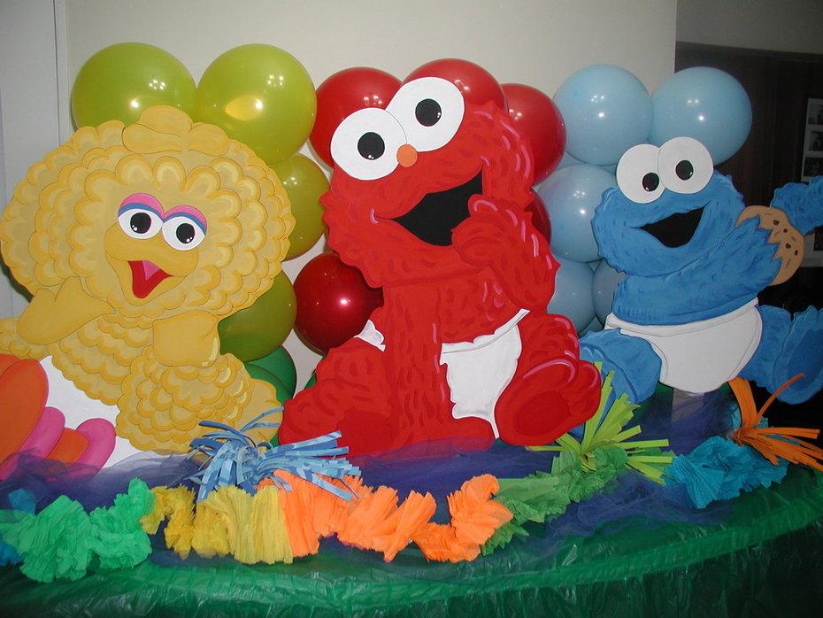 Decoración de Bebe Elmo