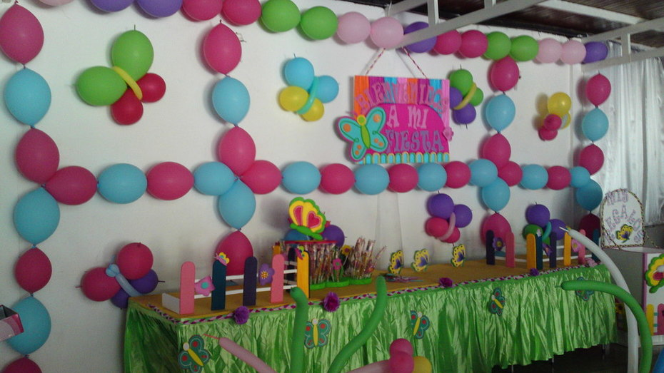 cumpleaños mariposa 2