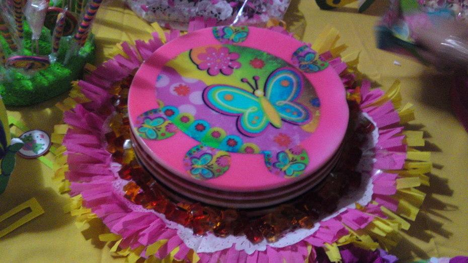 gelatina mariposa