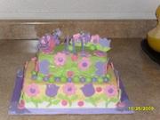 mi primer pastel de fondant
