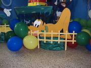mickey mouse, pluto