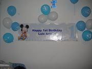 Decoracion de Baby Mickey