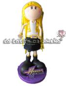 Fofucha Hannah Montana con base