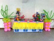 decoracion mesa bob esponja