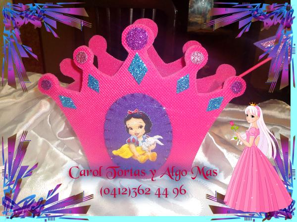 cotillón para fiestas de princesas.