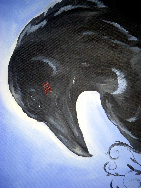 Fanciful Crow