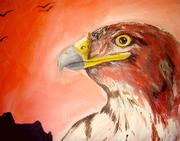 Hawk's Sunset