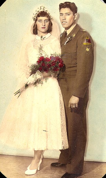 My parents wedding picture