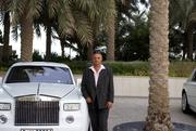 11_Moi avec la Rolls à Dubaï