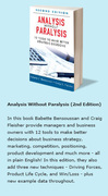 Analysis without Paralysis 2nd Edition 2013