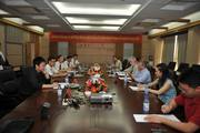 Dr Fleisher meeting with friends in China