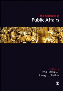 Handbook of Public Affairs, SAGE 2011 cover